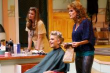 North Carolina Theatre's Steel Magnolias (Image courtesy of Curtis Brown Photography)