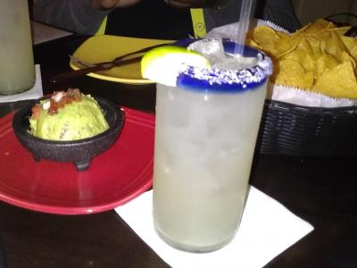Skinny Margarita at Cantina 18