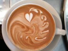 A beautiful cup of coffee from Cafe Helios (Image from Facebook)