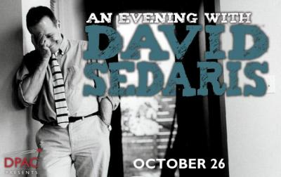 David Sedaris (Image from DPAC)