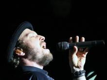 Gavin DeGraw and Colbie Caillat played to a passionate crowd at the Raleigh Amphitheater on Tuesday, June 12, 2012, in Raleigh.