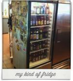 Lilly's Pizza: my kind of fridge