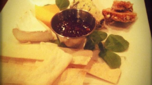 Taken at Watts Grocery.  Comment: Cheese plate!
