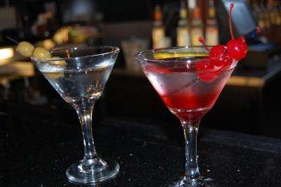 Some of the cocktails available at The Junction Salon in Raleigh.
