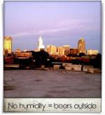 Boylan Bridge Brewpub: No humidity = beers outside