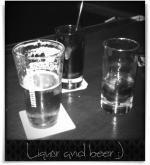 Raleigh Times Bar: Liquor and beer :)