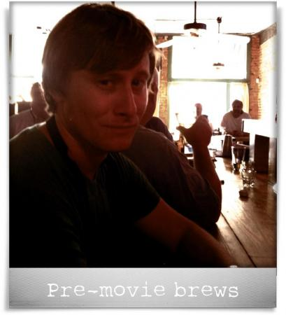 Taken at The Point at Glenwood.  Comment: Pre-movie brews
