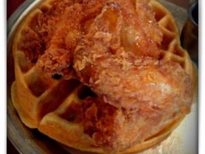 Taken at Beasley's Chicken & Honey.  Comment: Chicken & waffles