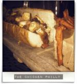 Boylan Bridge Brewpub: The chicken Philly 