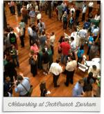 American Tobacco Campus: Networking at TechCrunch Durham