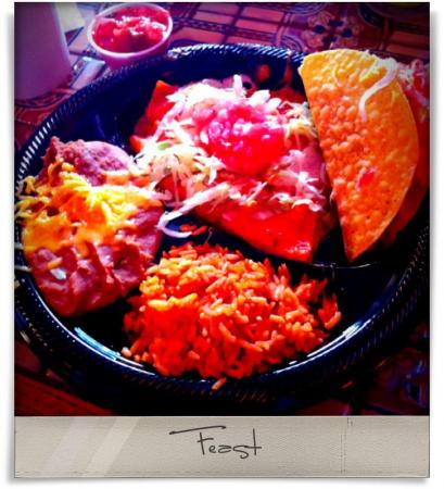 Taken at Armadillo Grill.  Comment: Feast