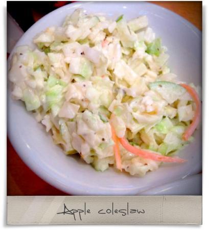 Taken at Nantucket Grille.  Comment: Apple coleslaw