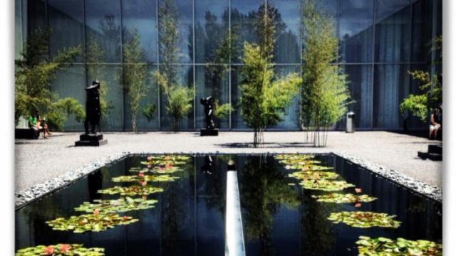 Taken at North Carolina Museum of Art.  Comment: Rodins garden 2