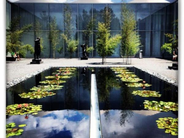 North Carolina Museum of Art: Rodins garden 2