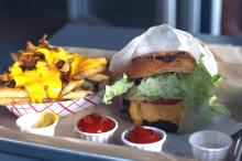 A look at the burgers at BurgerFi in Cary. (Photo by The Straight Beef.)