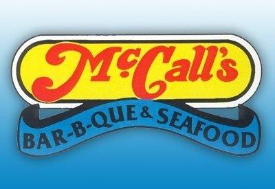 Thirsty? Get a free tea with Facebook Check-in at McCall's Bar-B-Q & Seafood (Picture from Facebook).