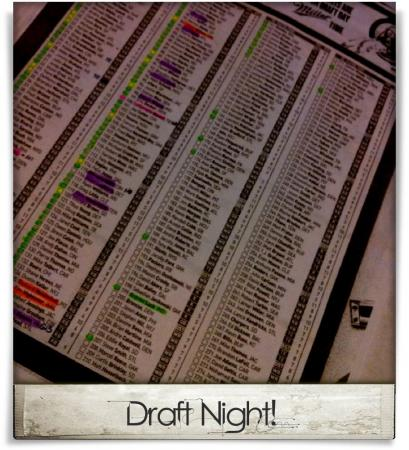 Taken at High Park Bar & Grill.  Comment: Draft Night!