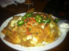 BBQ Nachos from Raleigh Times