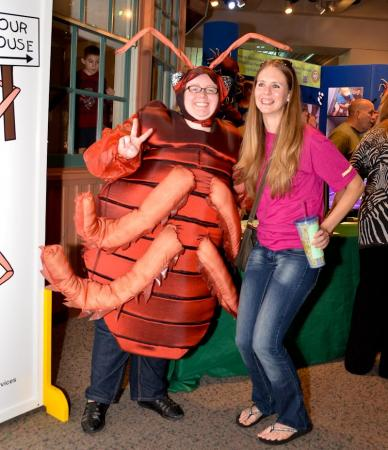 BugFest, the NC Museum of Natural Science's biggest one-day event of the year and only event of its kind in the nation, invaded Raleigh Saturday.