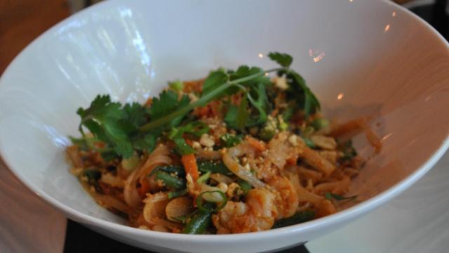 Shrimp Pad Thai at Bida Manda.