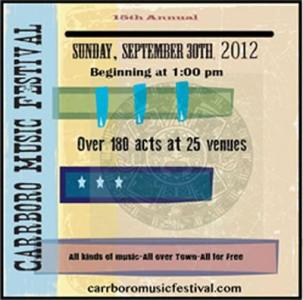 Carrboro Music Festival 2012