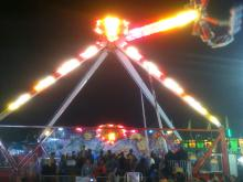 The Zipper, The Fireball, The Claw, The Vortex, The Ferris Wheel