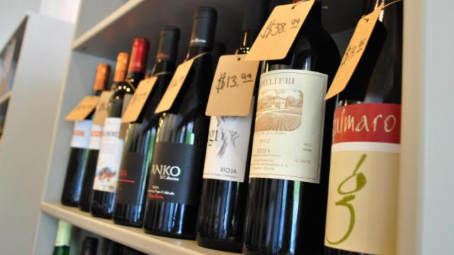Cave Taureau in Durham hosted a free wine tasting on Saturday.