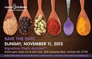 March of Dimes Signature Chefs Auction, Nov. 11, 2012