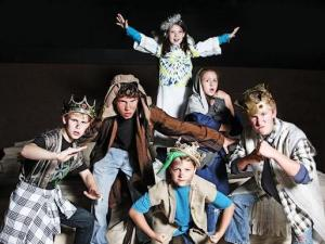 """The Best Christmas Pageant Ever"" at Raleigh Little Theater 2012"