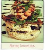 518 West: Shrimp bruschetta