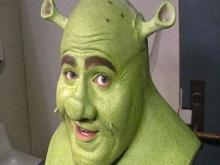Shrek's makeup secrets