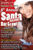 Lazyday Santa Bar Crawl
