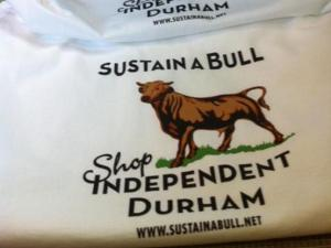 Sustain-a-Bull is a non-profit independent business alliance. (Photo by Chris Reid)