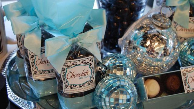 The Chocolate Boutique offers a variety of chocolately confections.