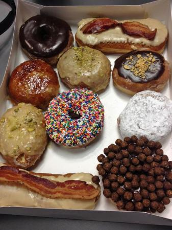 A look at the donuts from Rise in Durham.