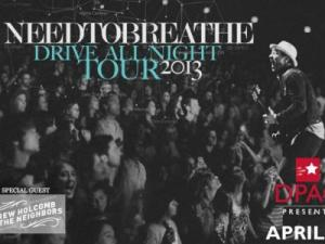 NEEDTOBREATHE (Image from DPAC)