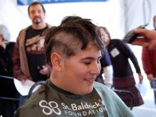 A downtown Raleigh bar and restaurant doubled as a barber shop Saturday. Napper Tandy's hosted one of the first St. Baldrick's events of the spring.