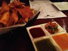 Salsa at Lucha Tigre