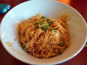 Japche noodles at Kimbap