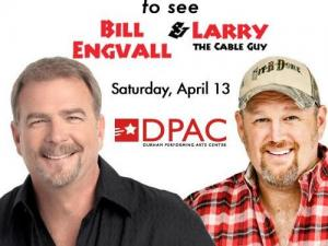 Larry the Cable Guy & Bill Engvall giveaway