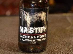 Railhouse Brewery Mastiff Oatmeal Stout