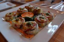 The Taste Explosion Roll at Cowfish.
