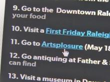 Downtown Raleigh bucket list makes summer siteseeing fun