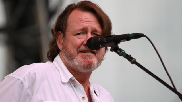 John Bell, of Widespread Panic, performs during a show at Red Hat Amphitheater in downtown Raleigh on Sunday, June 9, 2013. (Photo by Jack Tarr)