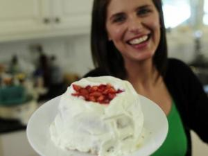 "Vivian Howard, of the Chef and the Farmer and the new PBS show ""A Chef's Life."" (Image from Indiegogo)"