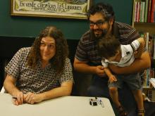 'Weird Al' Yankovic signed books for fans Friday at Quail Ridge Books & Music in Raleigh.  Al is currently on his book signing tour throughout the US.