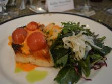 Red Snapper and kale salad are on the summer menu at the Fairview Restaurant at Washington Duke Inn.