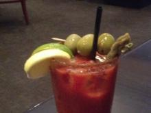 Bloody Mary at Tribeca Tavern