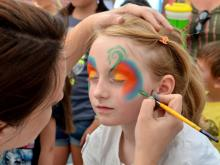 The 37th annual Lazy Daze Arts & Crafts Festival took place in Cary, N.C. on Saturday, August 24, 2013. The crowd enjoyed music, food, arts, and crafts in perfect weather.