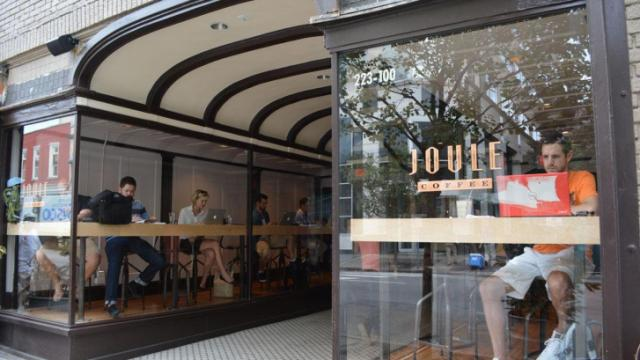 A look at Joule on South Wilmington Street in downtown Raleigh.